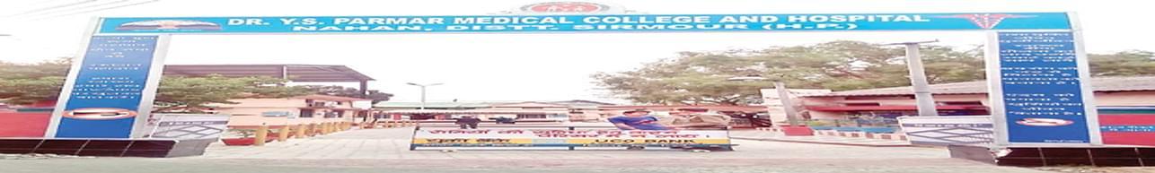 Dr. Y. S. Parmar Medical College Nahan, Sirmaur - Photos & Videos