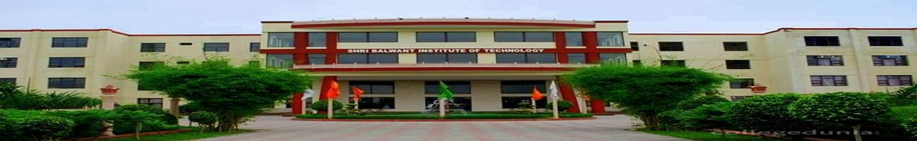 Shri Balwant Institute of Technology - [SBIT], Sonepat