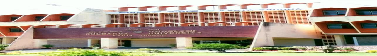 Gulbarga University - [GU], Gulbarga - Course & Fees Details