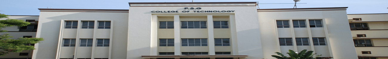 P.S.G College of Technology - [PSGCT], Coimbatore