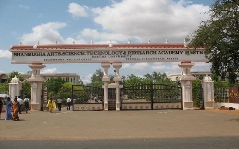 Aerospace Engineering Colleges >> SASTRA University, Thanjavur Courses & Fees 2020-2021