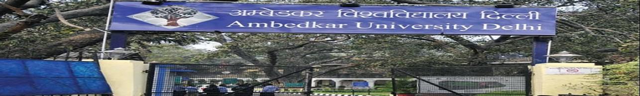 Ambedkar University Delhi - [AUD], New Delhi