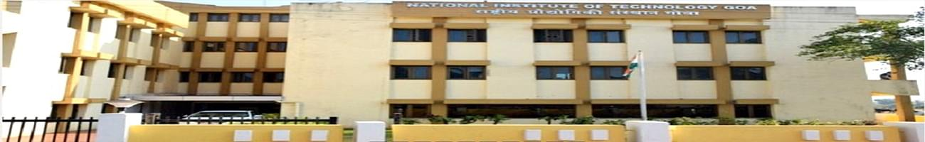 National Institute of Technology - [NIT], South Goa