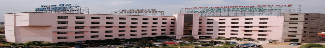 Dr. M.G.R. Educational and Research Institute, Chennai - Course & Fees Details