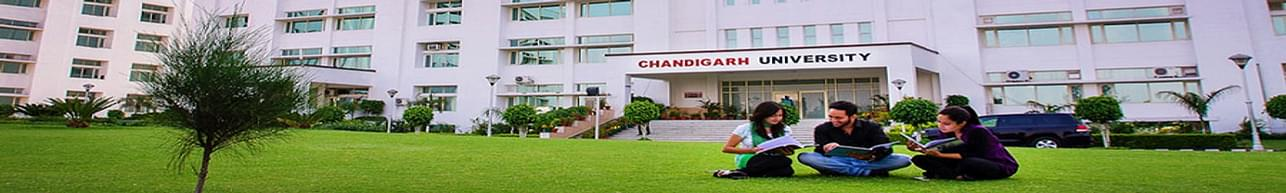 University Institute of Tourism and Hospitality Management,   Chandigarh University - [UITHM], Chandigarh
