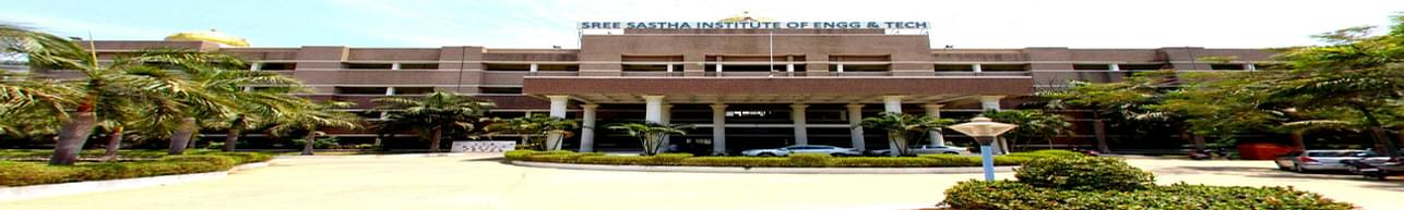 Sree Sastha Institute of Engineering and Technology, Chennai