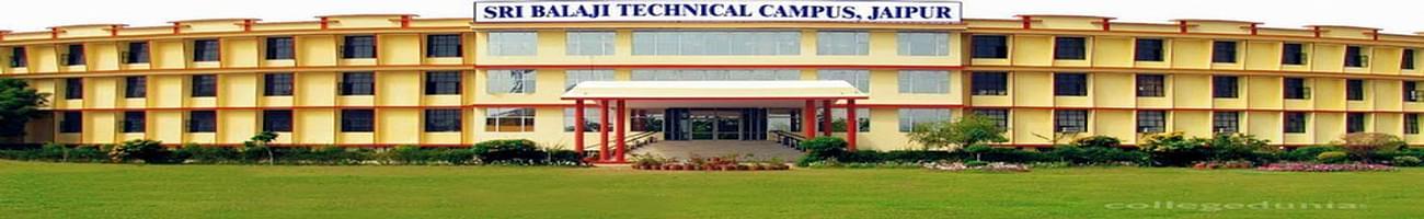 Sri Balaji College of Engineering and Technology - [SBCET], Jaipur