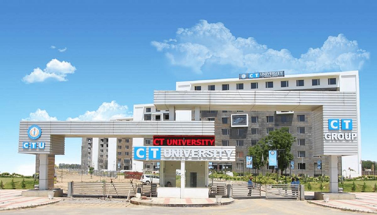 CT University - [CTU], Ludhiana Courses & Fees 2019-2020