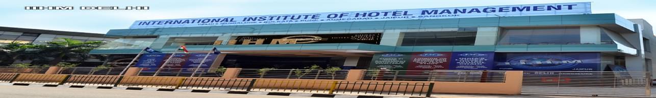 International Institute of Hotel Management - [IIHM], New Delhi