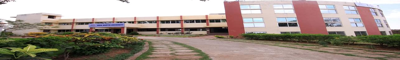 Usha Martin University - [UMU], Ranchi - Course & Fees Details
