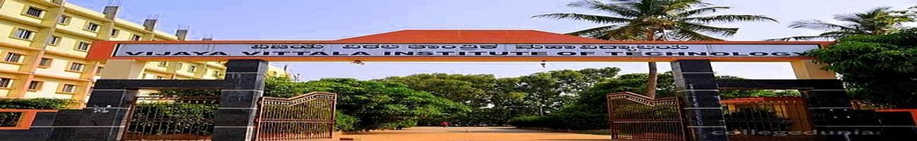 Sri Vijaya Vittala Institute of Technology- [VVIT], Bangalore