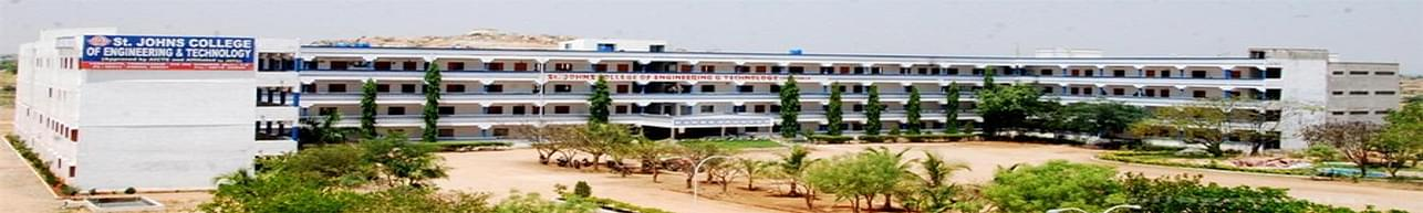 St. Johns College of Engineering and Technology Yemmiganur - [SJCET ], Kurnool