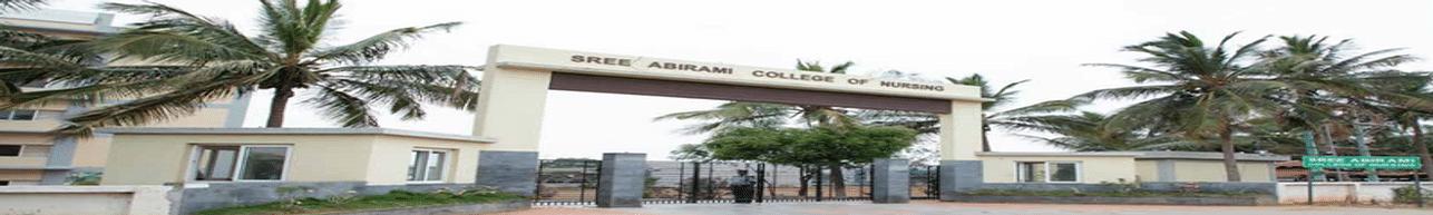 Sree Abirami College of Nursing, Coimbatore - Course & Fees Details