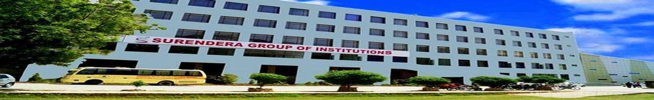 Surendra Group of Institutions - [SGI], Ganganagar