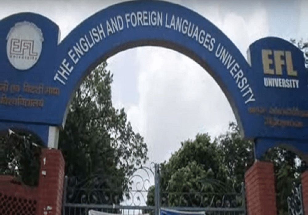 The English and Foreign Languages University - [EFL]