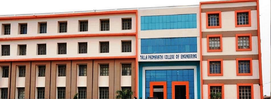 Talla Padmavathi College Of Engineering Tpce Warangal