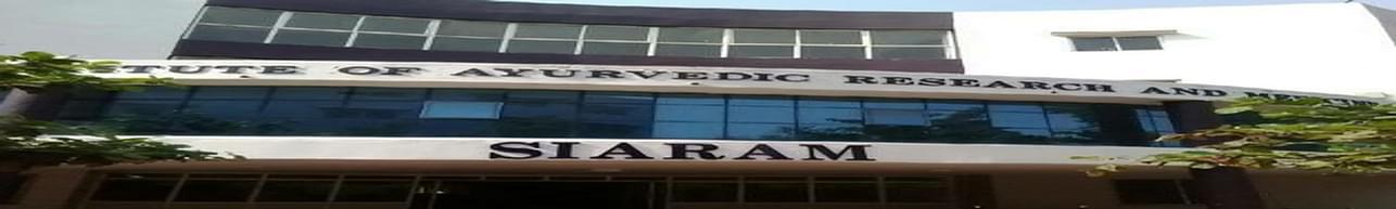 Sri Sai Institute of Ayurvedic Research and Medicine - [SIARAM], Bhopal - Course & Fees Details
