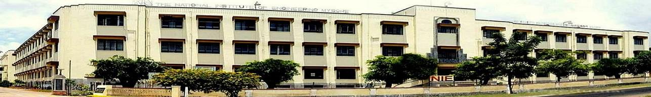 The National Institute of Engineering - [NIE], Mysore - Course & Fees Details