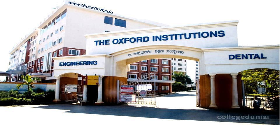 The Oxford College of Engineering
