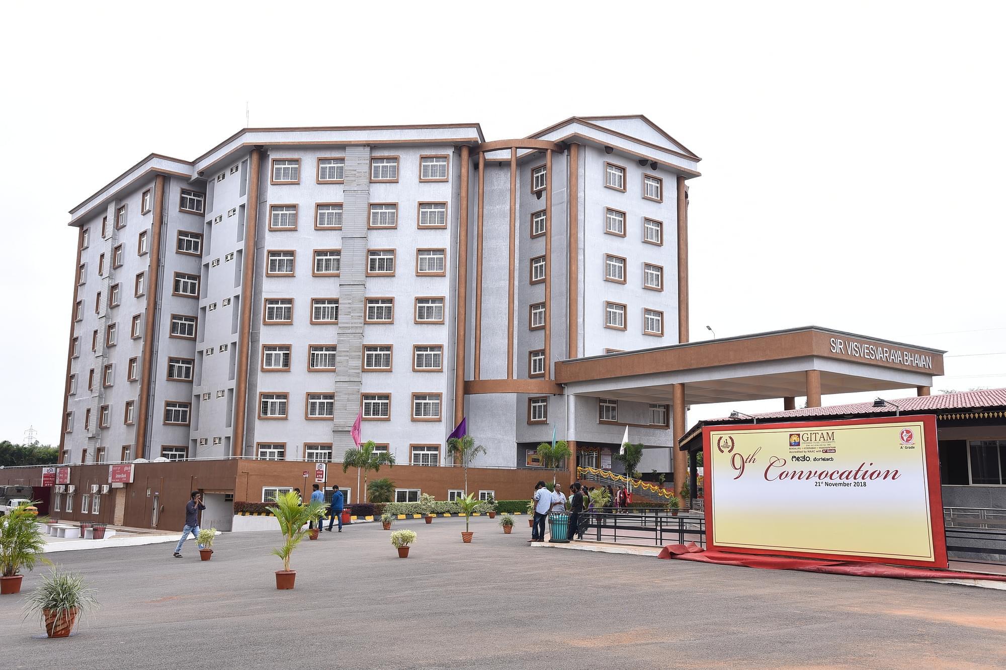 Gitam Bangalore Courses Fees 2021 2022