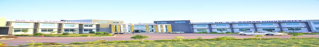 Dr. C.V. Raman University - [CVRU], Khandwa