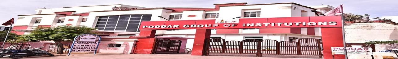 Poddar Group of Institutions, Jaipur - Course & Fees Details