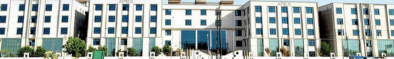 Apex University, Jaipur - Course & Fees Details