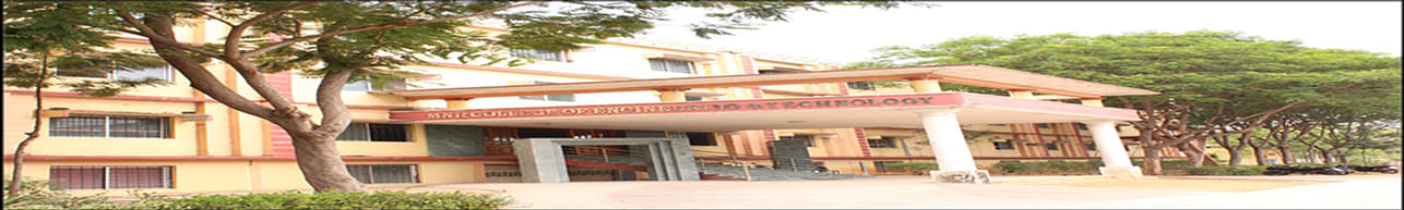 MNR College of Engineering and Technology - [MNRCET], Sangareddy