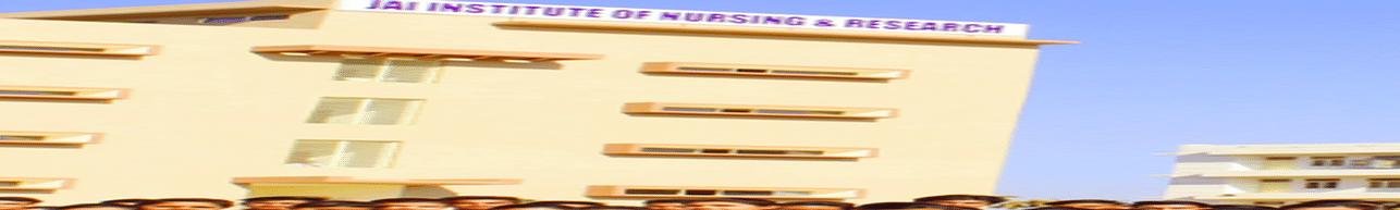Jai Institute of Nursing & Research - [JINR], Gwalior