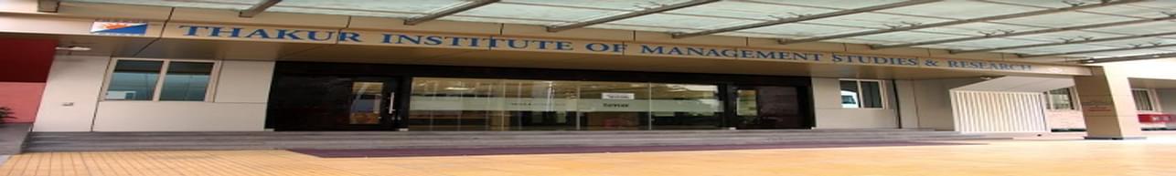Thakur Institute of Management Studies and Research - [TIMSR], Mumbai