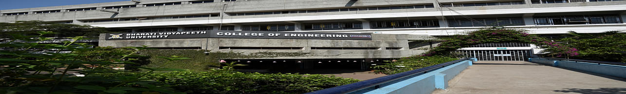 Bharati Vidyapeeth University College of Engineering - [BVUCOE], Pune - Course & Fees Details