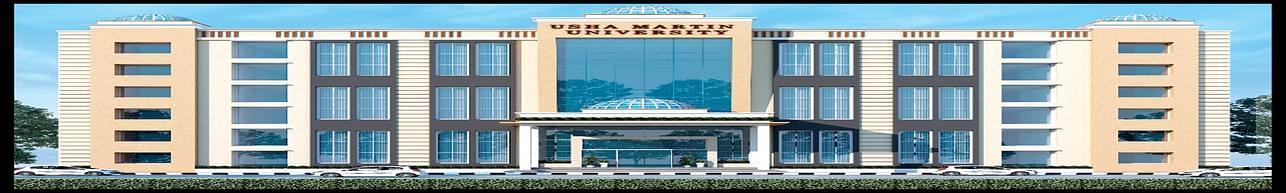 Usha Martin University - [UMU], Ranchi - Course & Fees Details