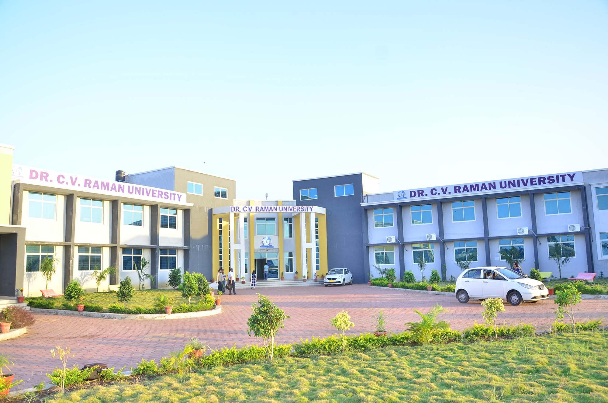 Dr. C.V. Raman University - [CVRU]
