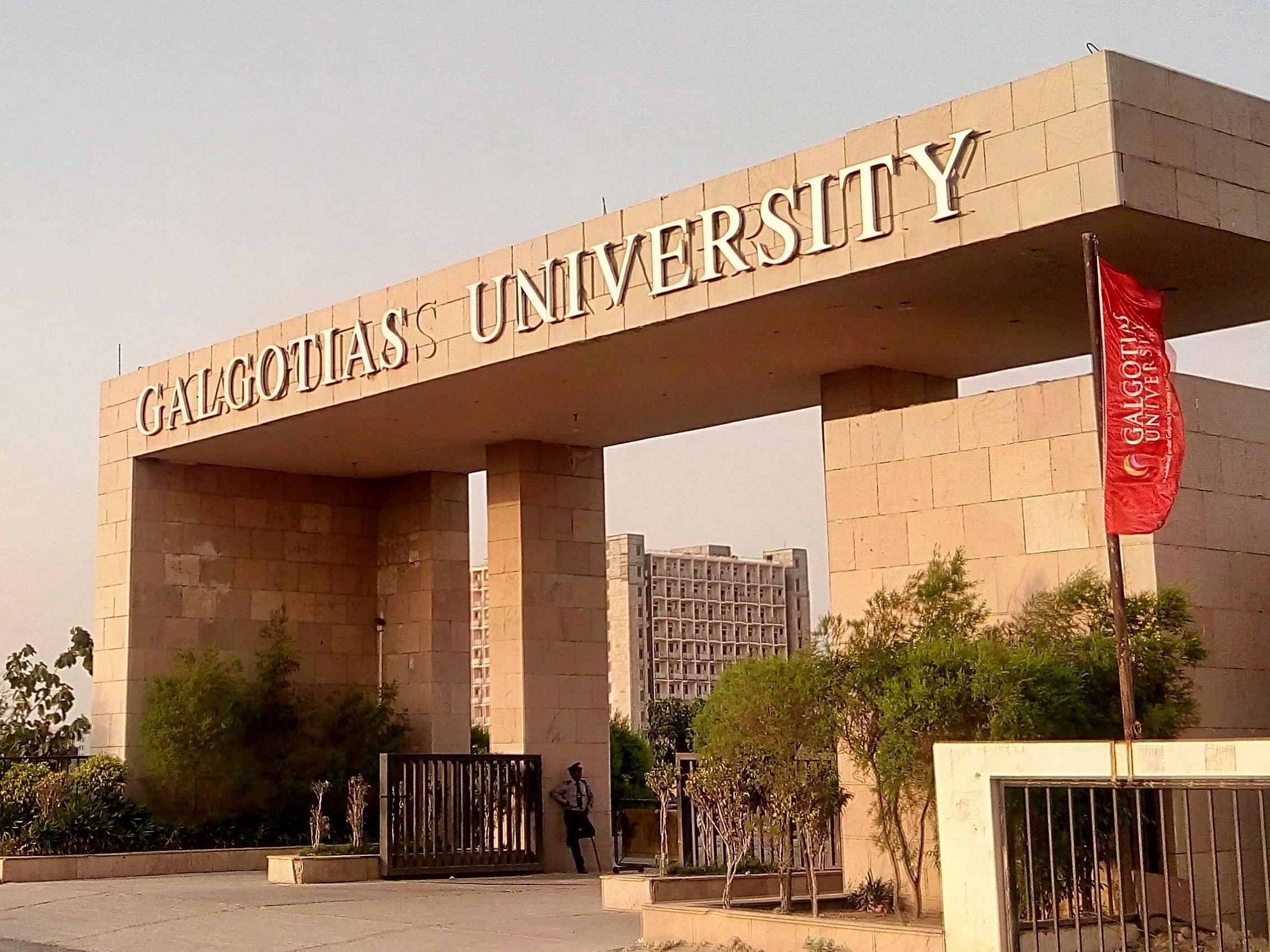 Galgotias University - [GU]