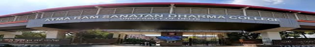 Atma Ram Sanatan Dharma College - [ARSD], New Delhi