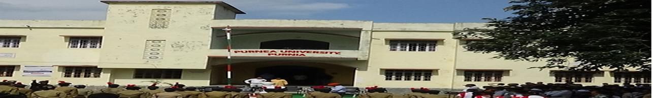 Purnea University, Purnahiya - Course & Fees Details