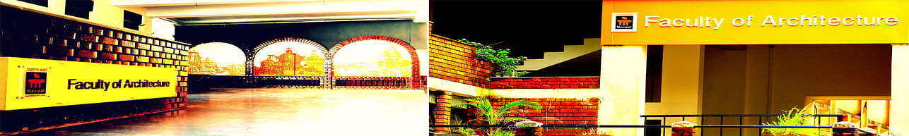 Manipal School of Architecture and Planning - [MSAP], Manipal
