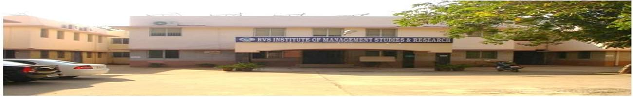 RVS Institute of Management Studies and Research - [RVSIMSR], Coimbatore