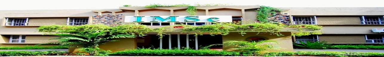 The Institute of Mathematical Sciences - [IMSc], Chennai