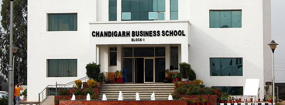Chandigarh Business School of Administration - [CBSA] Landran