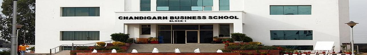 Chandigarh Business School of Administration - [CBSA], landran