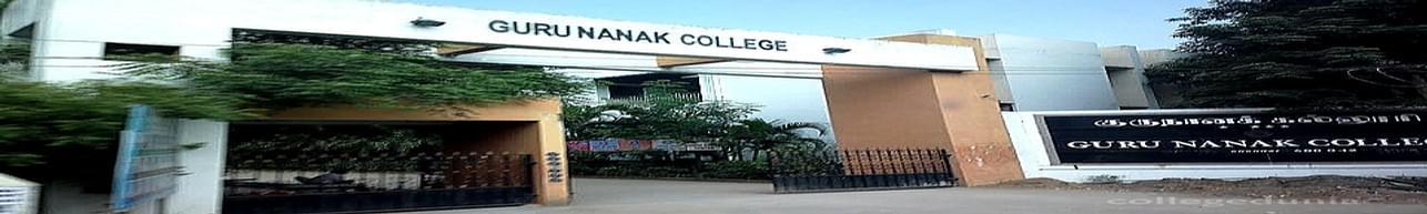 Guru Nanak College, Chennai - Course & Fees Details