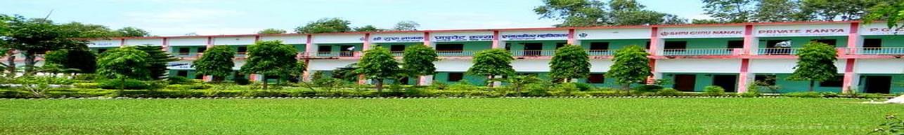 Guru Nanak Girls Post Graduate College, Udham Singh Nagar