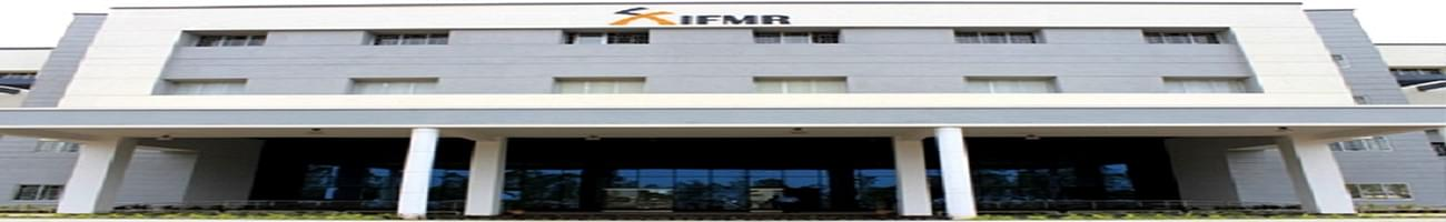 Institute for Financial Management & Research - [IFMR], Chittoor