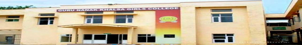 Guru Nanak Khalsa Girls College, Jalandhar