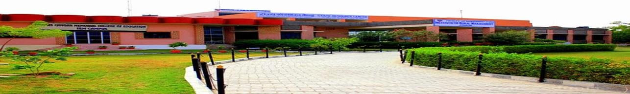 Institute of Rural Management - [IRM], Bhilwara