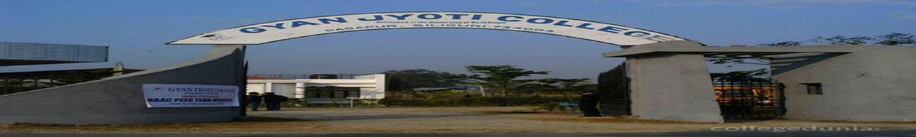 Gyan Jyoti College, Siliguri - Course & Fees Details
