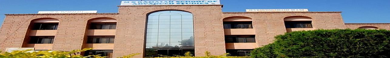 M.S. Ramaiah Institute of Management - [MSRIM], Bangalore