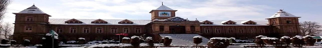 Amar Singh Government Degree College, Srinagar - Course & Fees Details
