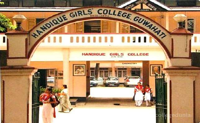 Handique Girl's College Admission 2019